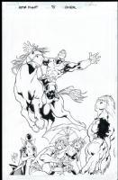 Alpha Flight # 05 Issue 5 Page Cover Comic Art