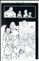 Alpha Flight # 06 Issue 6 Page 8 Comic Art