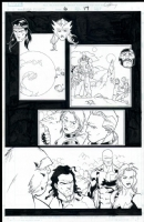 Alpha Flight # 06 Issue 6 Page 17 Comic Art