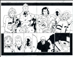 Alpha Flight # 03 Issue 3 Page 10&11 Comic Art