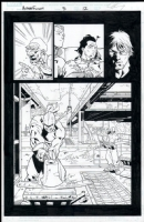 Alpha Flight # 03 Issue 3 Page 12 Comic Art