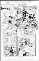 Exiles # 37 Issue 37 Page 10 Comic Art