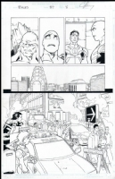 Exiles # 37 Issue 37 Page 8 Comic Art