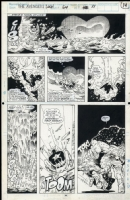 Avengers West Coast Issue 64 Page 14 Comic Art