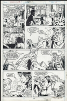 Power Pack Issue 41 Page 13 Comic Art