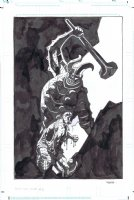 From the Vault - Hellboy Pinup