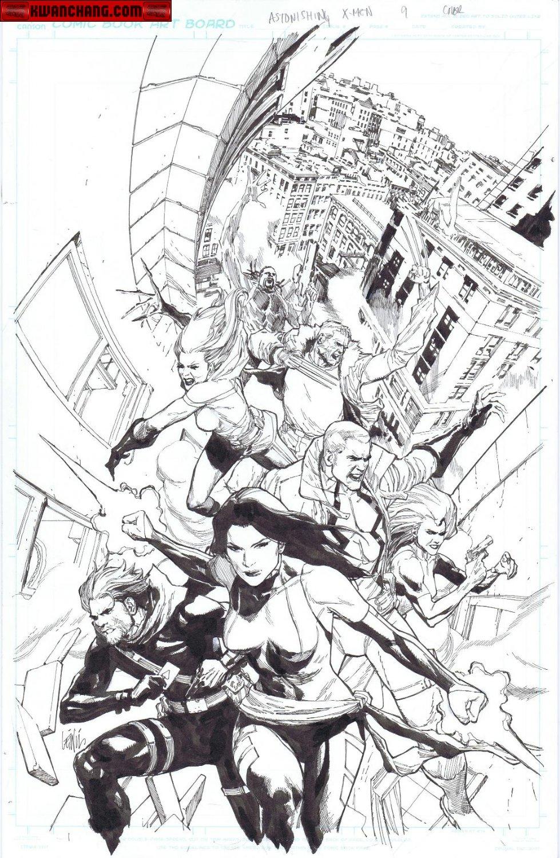 Astonishing X-Men # 9 Cover