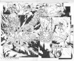 The Mighty Thor # 1 Issue 01 Page 09 & 10 Comic Art