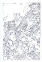 Battle Chasers Issue 01 Page Cover Comic Art