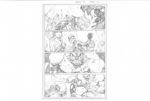 Avenging Spider-Man # 3 Issue 03 Page 17 Comic Art