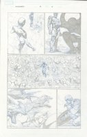 Avengers # 3 Issue 03 Page 08 Comic Art