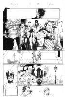 Inhumanity # 1 Issue 01 Page 15 Comic Art