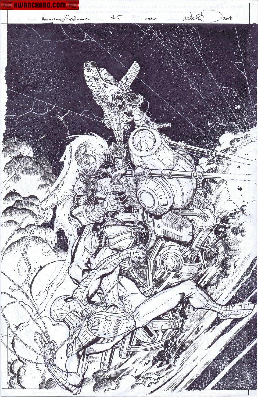 Amazing Spider-Man # 5 Cover