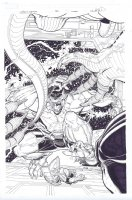Wolverine and the X-Men # 30 Issue 30 Page Cover Comic Art