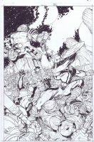 Covers / Pinups Issue X-Men Page Cover Comic Art