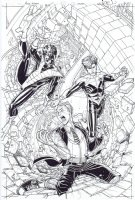 Amazing X-Men # 13 Issue 13 Page Cover Comic Art
