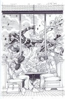 Inhumans # 2 Issue 02 Page Cover Comic Art