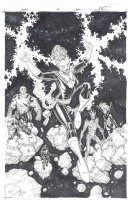Guardians of the Galaxy # 14  Issue 14 Page Cover Comic Art