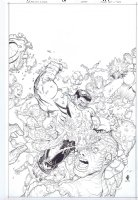 Wolverine and the X-Men # 11  Issue 11 Page Cover Comic Art