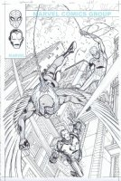 Spider-Man Adventures # 5  Issue 5 Page Cover Comic Art