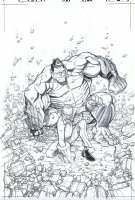 Incredible Hulk # 709 Issue 709 Page Cover Comic Art