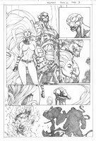 Inhuman # 2 Issue 02 Page 03 Comic Art