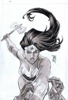 Covers / Pinups Issue Wonder Woman # 32 Page Cover Comic Art