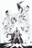 Covers / Pinups Issue JLA # 02 Page Cover Comic Art