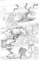 Civil War # 05 Issue 05 Page 09 Comic Art