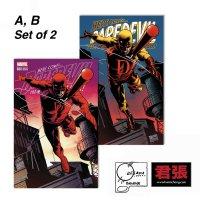Daredevil # 600 Joe Quesada Variant A+B Set Issue 01 Page Cover Comic Art