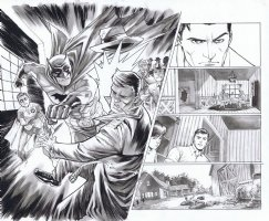 Trinity Issue 01 Page 12 & 13 Comic Art
