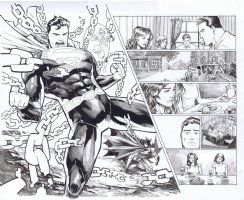 Trinity Issue 01 Page 14 & 15 Comic Art