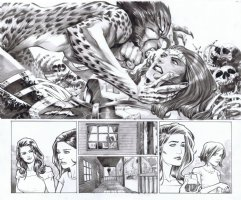 Trinity Issue 01 Page 16 & 17 Comic Art